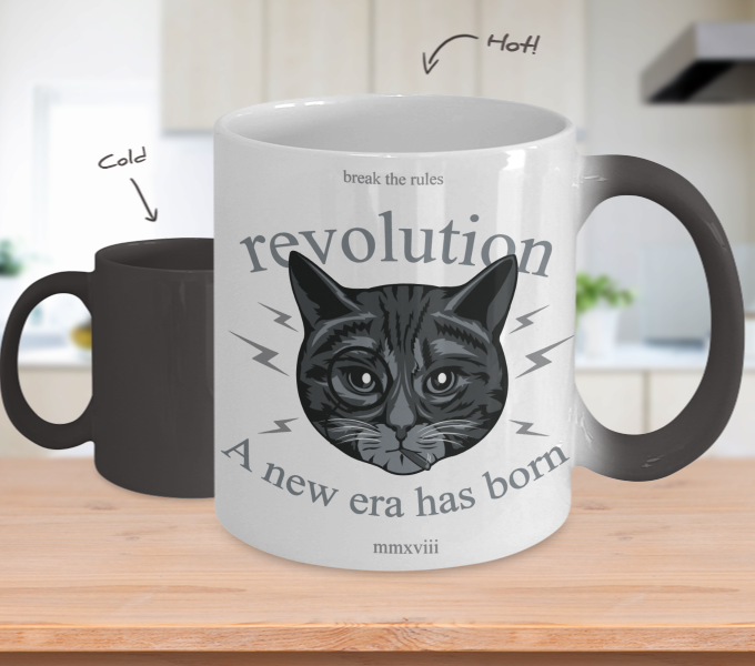Color Changing Mug Animals Break The Rules Revolution A New Era Was Born