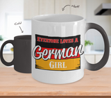 Color Changing Mug Love Where You Live Theme Everyone Loves A German Girl