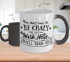 Image of Color Changing Mug Crazy To Work Here