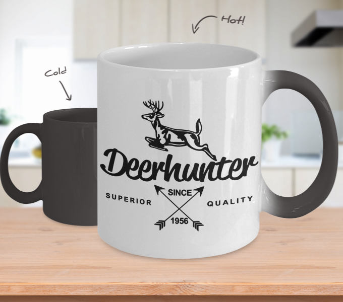 Color Changing Mug Hunting Theme Deer Hunter Since 1956