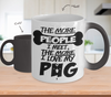 Image of Color Changing Mug Dog Theme The More People I Meet The More I Love My Pug