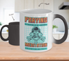 Image of Color Changing Mug Retro 80s 90s Nostalgic Cosmos Prayer