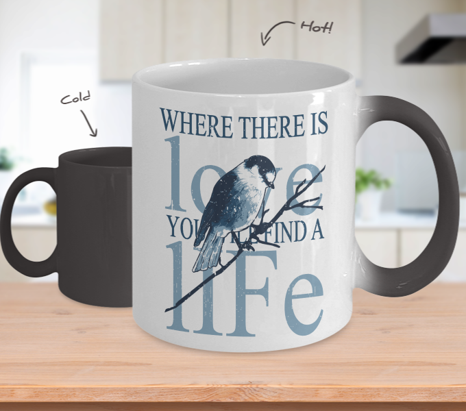 Color Changing Mug Animals Where There Is Love Will Find A Life