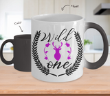 Color Changing Mug Mom Wild One