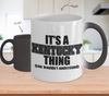 Image of Color Changing Mug Love Where You Live Theme It's A Kentucky Thing