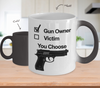 Image of Color Changing Mug Hunting Theme Gun Onwer You Choose