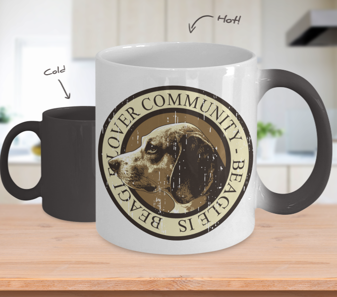 Color Changing Mug Animals Beagles Lover Community