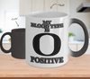 Image of Color Changing Mug Random Theme My Blood Type Is O+ Positive