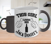 Image of Color Changing Mug Drinking Theme This Girl Loves Her Jack Daniel's