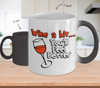Image of Color Changing Mug Drinking Theme Wine A Bit You'll Feel Better