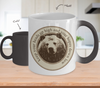 Image of Color Changing Mug Animals Keep Your Heads Up High And Your Hopes Down Low