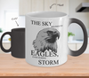 Image of Color Changing Mug Animals The Sky Belongs To Eagles Even During Storm