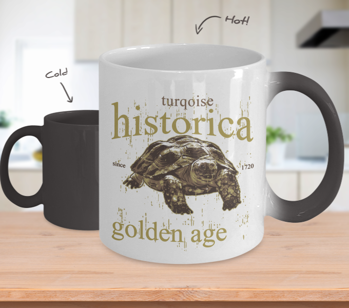 Color Changing Mug Animals Historica Golden Age