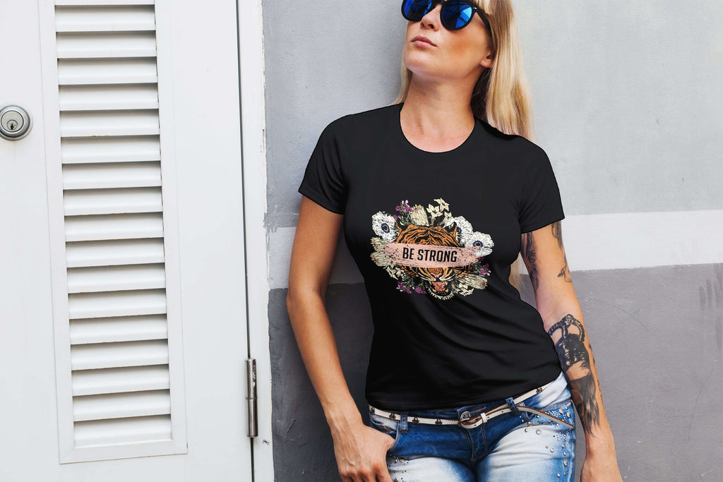 Be Strong Ladies Tee