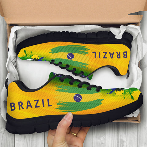 2018 FIFA World Cup Brazil Mens Athletic Sneakers - STUDIO 11 COUTURE