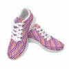 Image of Model020 Women's Sneaker 80s Cassette Tapes Pink and Purple - STUDIO 11 COUTURE