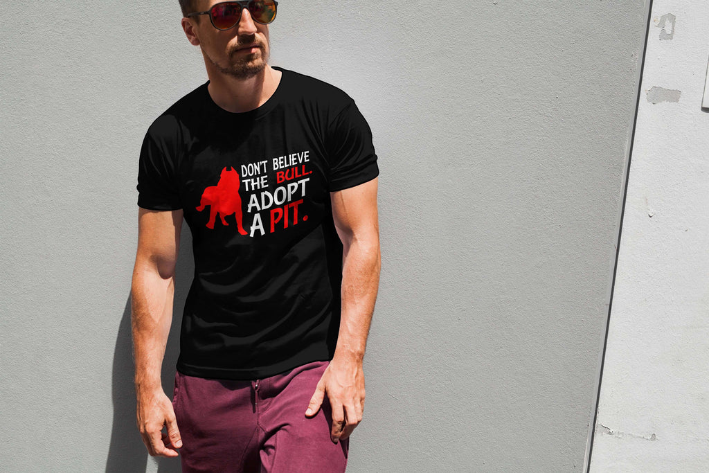 Don't Believe The Bull Men Tee