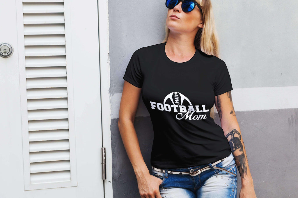 Foot Ball Mom Ladies Tee