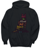 Image of Sweatshirt Sweater Hoodie T-shirt Tee Top Black Christian Wolf Don't Be Afraid Just Believe