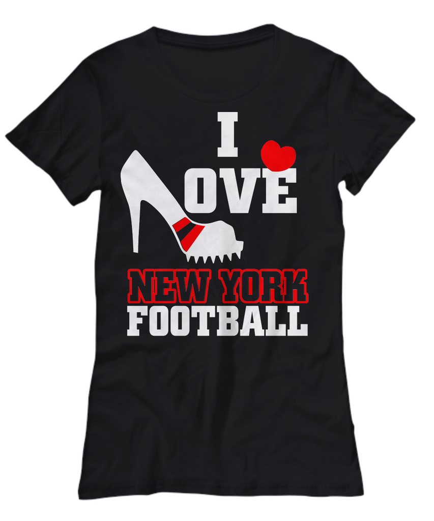 Women and Men Tee Shirt T-Shirt Hoodie Sweatshirt I Love New York FootBall