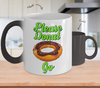 Image of Color Changing Mug Retro 80s 90s Nostalgic Please Donut go Food