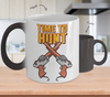 Image of Color Changing Mug Retro 80s 90s Nostalgic time To Hunt