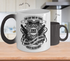 Image of Color Changing Mug Hunting Theme You Can Take My Guns When You Pry Them From My Cold Dead Hands