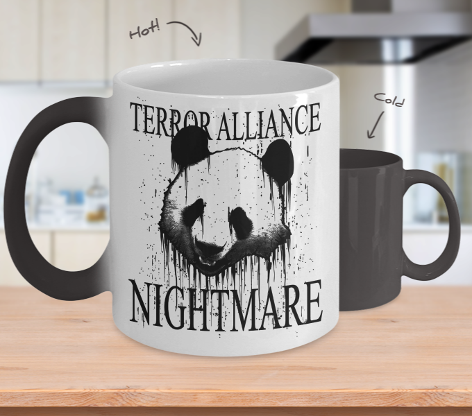 Color Changing Mug Animals Terror Alliance Nightmare