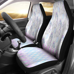 Unicorn In Love 2 Car Seat Covers
