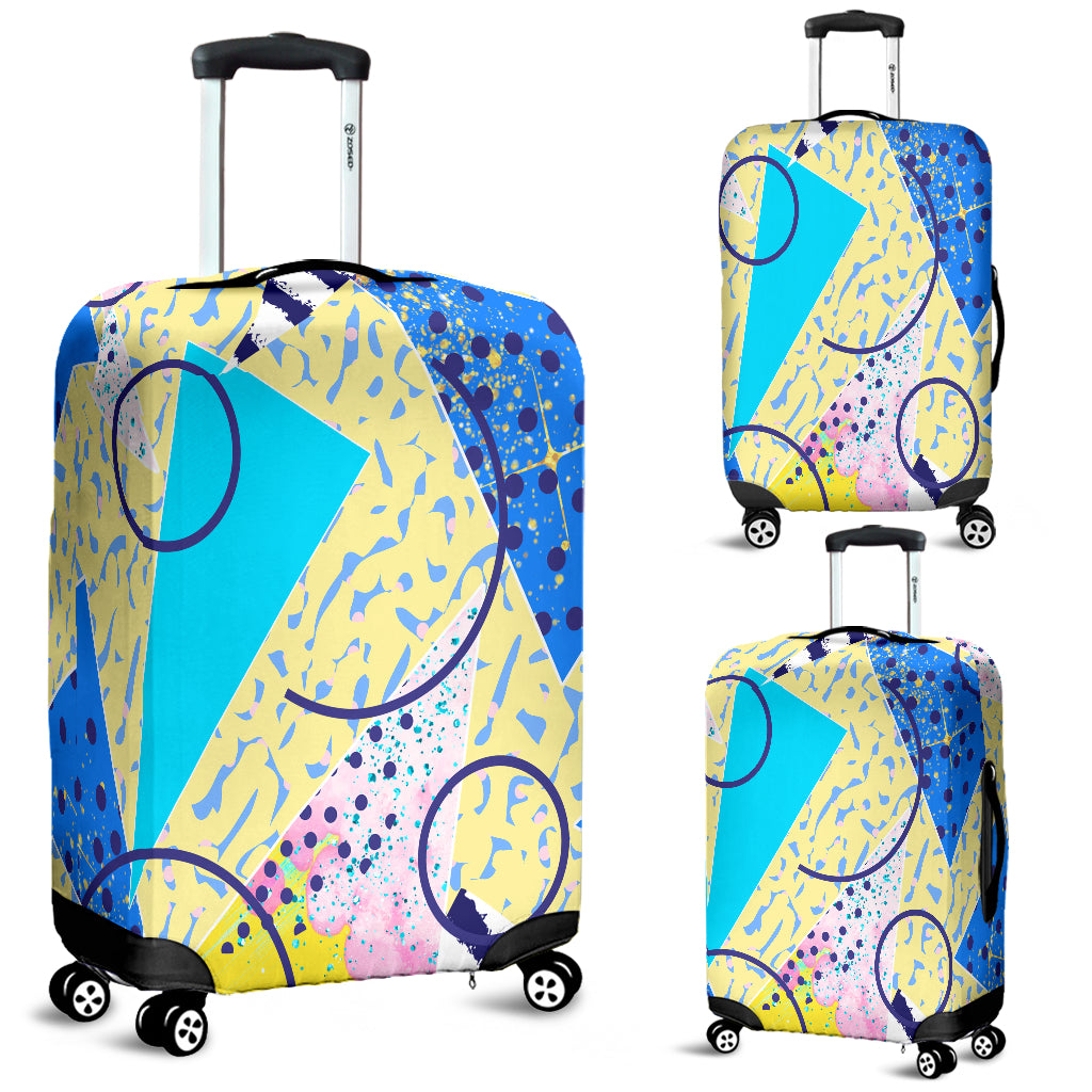 80s Fashion Girl 4 Luggage Cover - STUDIO 11 COUTURE