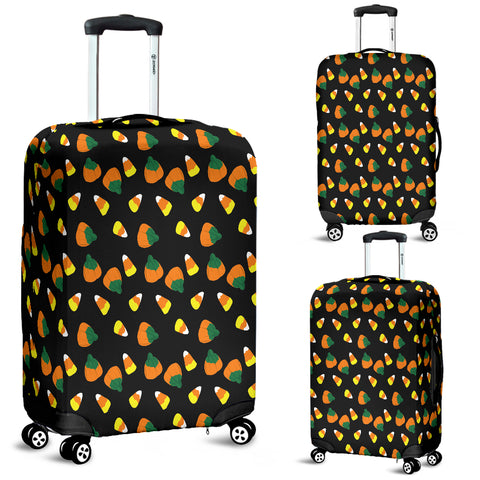 Candy Corn Halloween Luggage Cover