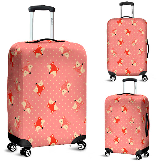 Cute Fox 7 Luggage Cover