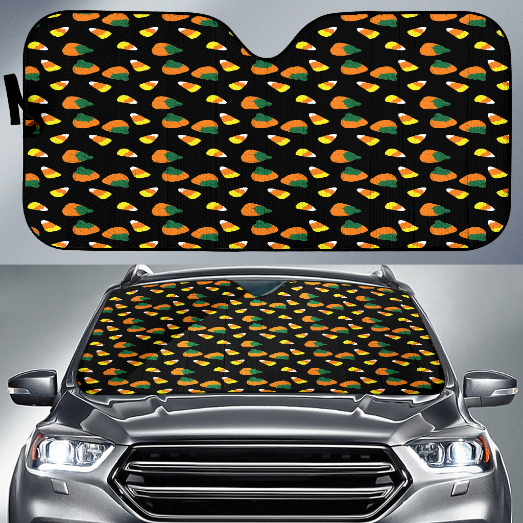 Trick or Treat Candy Corn Auto Sun Shades