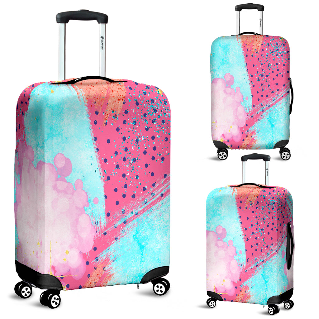 80s Fashion Girl 10 Luggage Cover - STUDIO 11 COUTURE