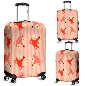 Cute Fox 8 Luggage Cover - STUDIO 11 COUTURE