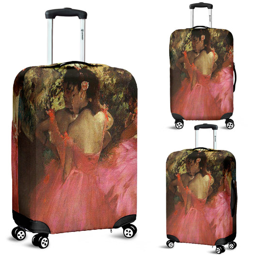 Edgar Degas Dancers in Pink Luggage Cover