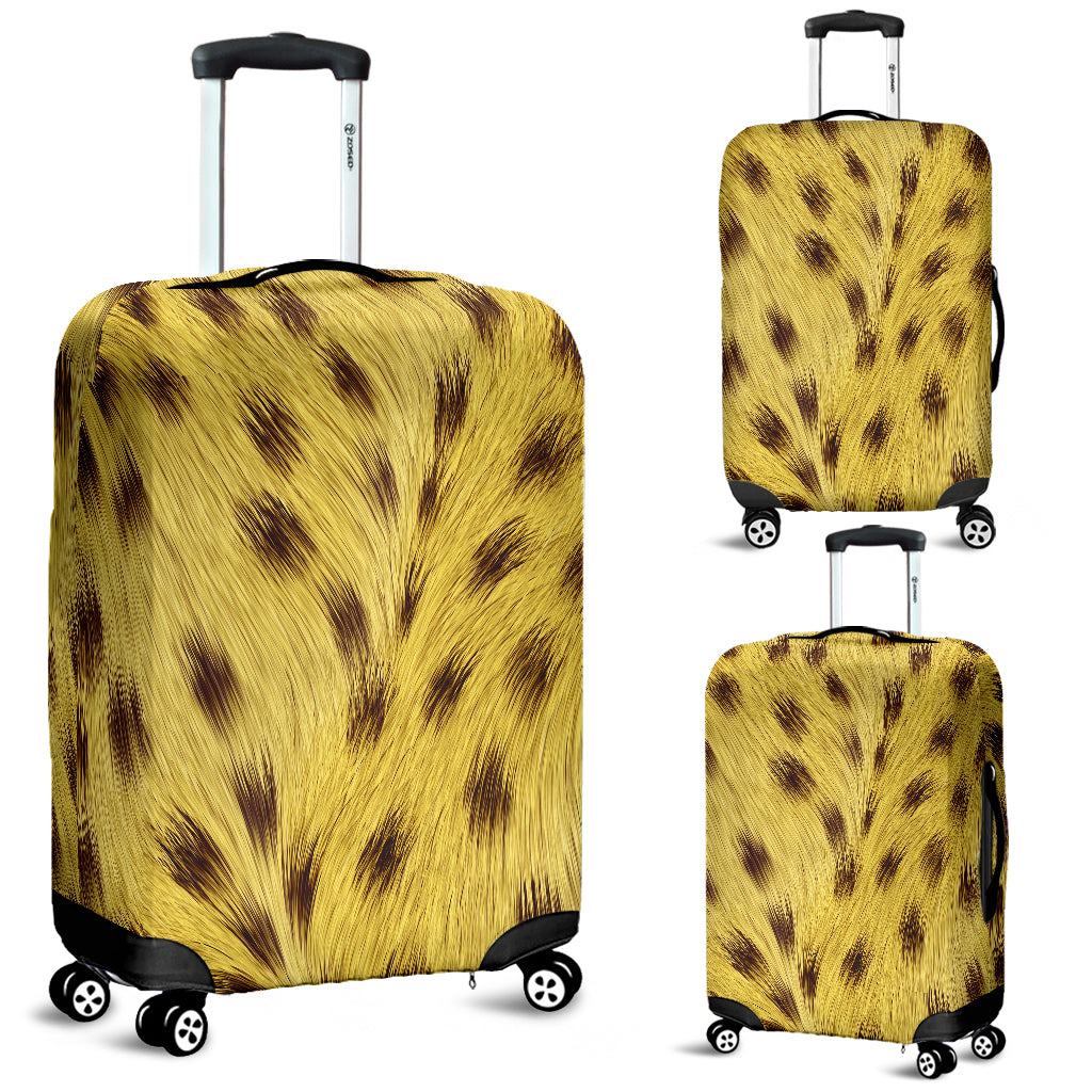 Cheetah Skin Luggage Cover