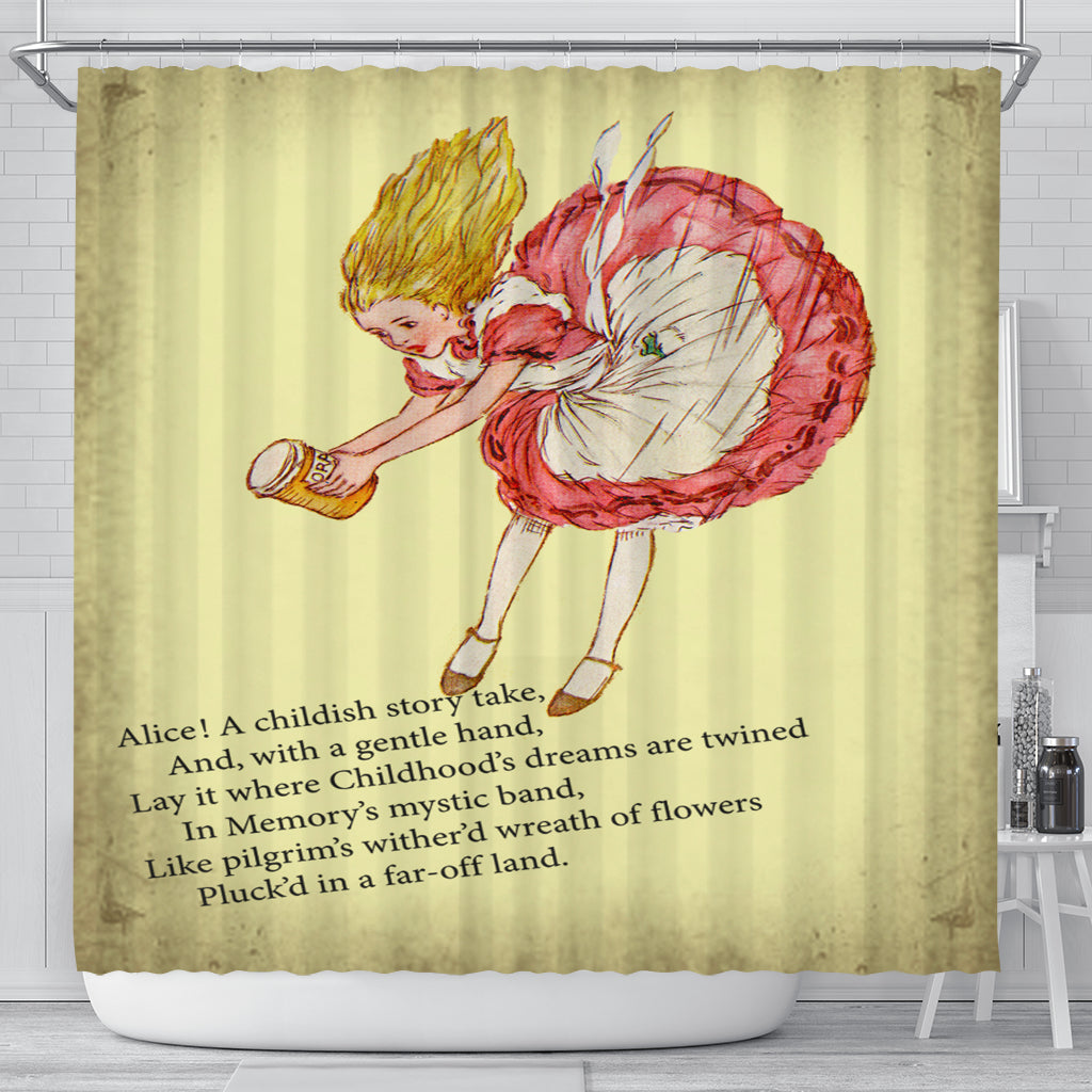 A Childish Story Shower Curtain - STUDIO 11 COUTURE