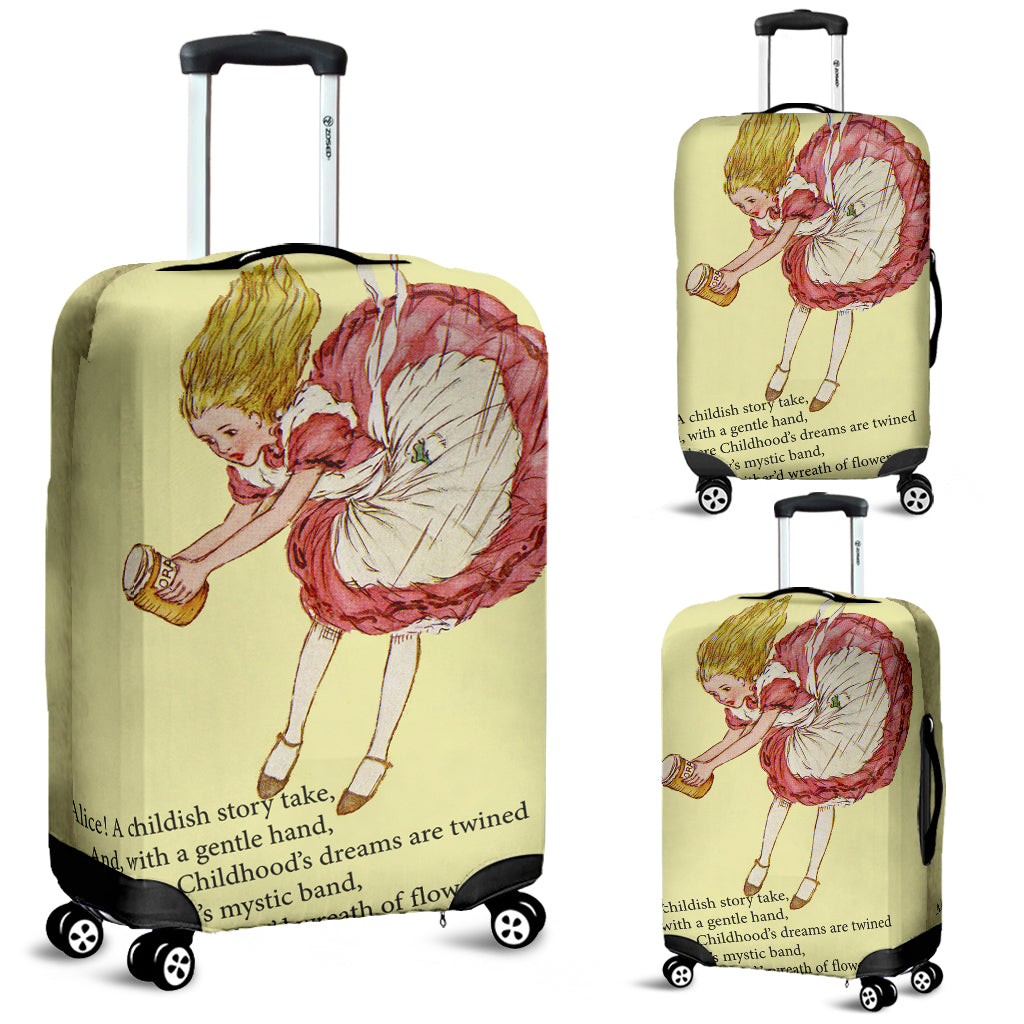 A Childish Story Luggage Cover - STUDIO 11 COUTURE