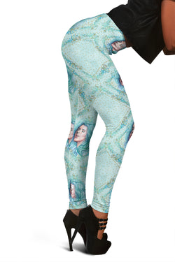 Women Leggings Sexy Printed Fitness Fashion Gym Dance Workout Summer Mermaids Theme J06
