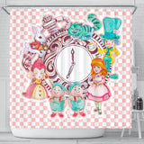 Alice And The Gang Shower Curtain - STUDIO 11 COUTURE