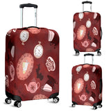 Mad Hatter Alice In Wonderland Luggage Cover