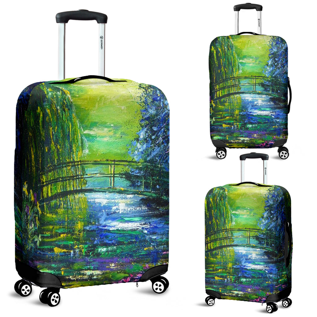 Pol Ledent After Monet Luggage Cover - STUDIO 11 COUTURE