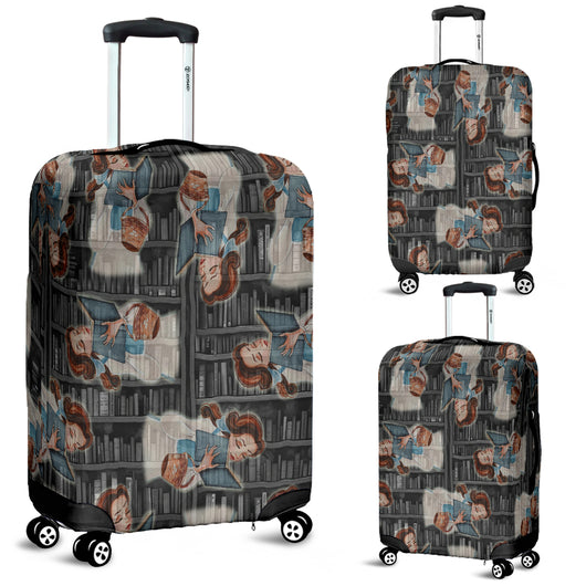 Beauty And The Beast Bell Luggage Cover