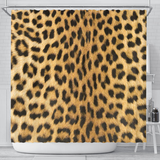 Cheetah Skin Shower Curtain