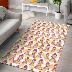 Floor Rug Alice In Wonderland 4-11