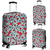 Floral 2 Luggage Cover