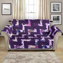 54'' Futon Sofa Protector Premium Polyster Fabric Custom Design Witch 12