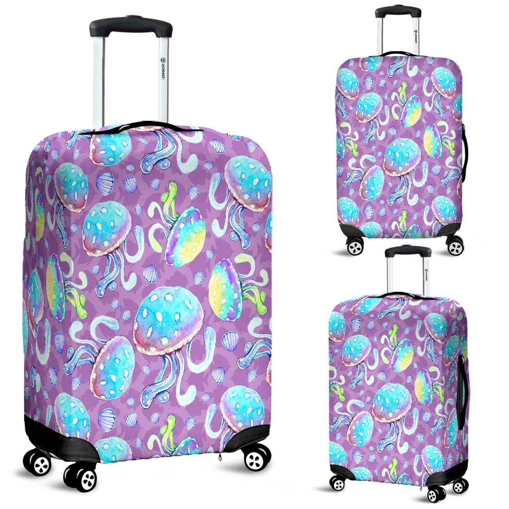 Full Of Jellyfish Luggage Cover - STUDIO 11 COUTURE