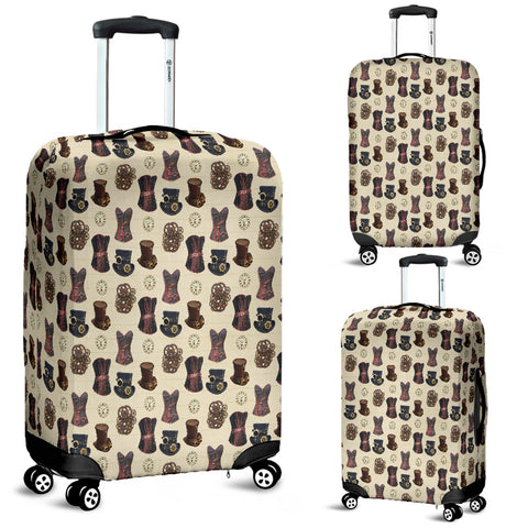 Mechanical Vintage Hat Steampunk Luggage Cover